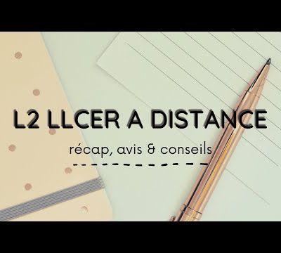 LA L2 A DISTANCE LE RECAP