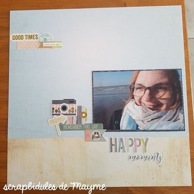 Page #3 : Happy Moments