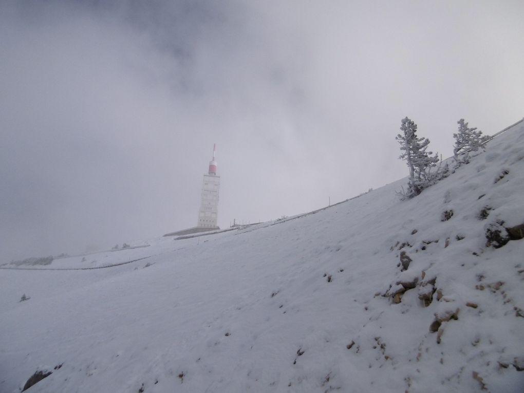 Le Mont Ventoux : montée et descente enduro Face sud au départ de Bédoin (84) le 09/11/2019