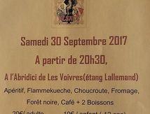 Repas Alsacien du 30 septembre