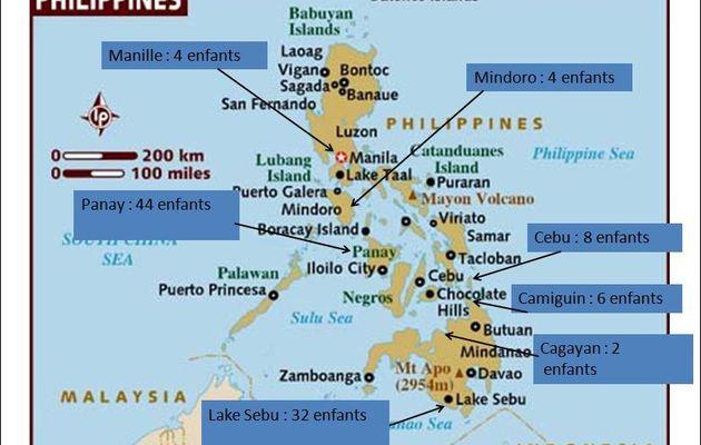 Des nouvelles de nos enfants après la passage du typhon Haiyan