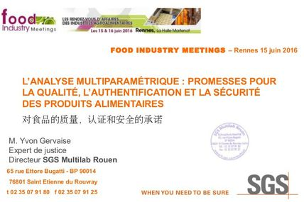 Rennes notre conference à Food Industry Meetings
