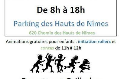 Vide greniers à Villeverte Nîmes, le dimanche 22 septembre 2019. les informations.