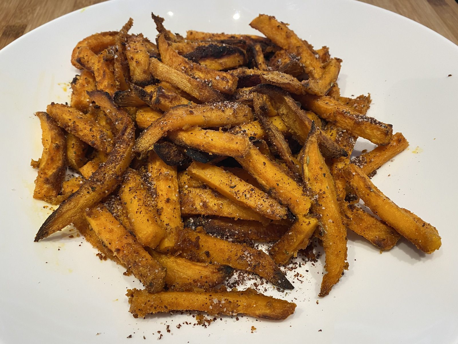 Frites de patates douces épicées de Yotam Ottolenghi