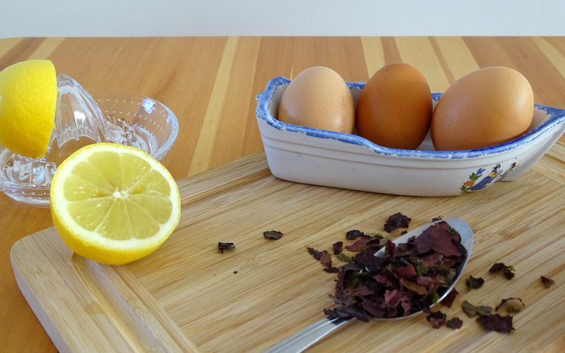 Mini cakes Saumon-Citron-Algues