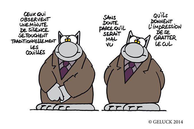 """""""Le Chat passe à table"""" de Geluck"""