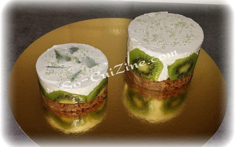 Cheesecake au Kiwi