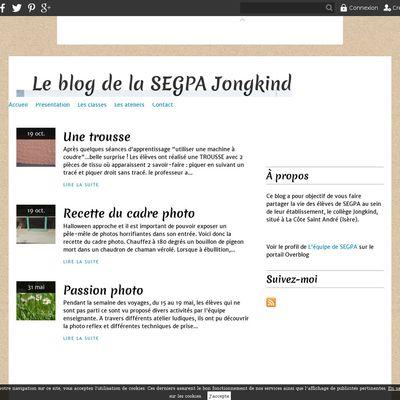 Le blog de la SEGPA Jongkind