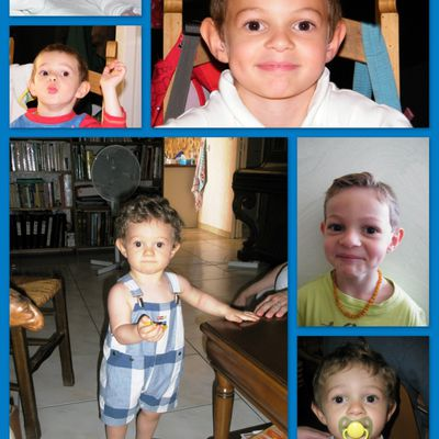 Mon petit grand Margouillat a 5 ans aujourd'hui ....