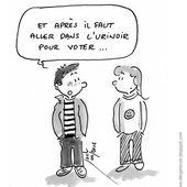 Humour Election: Pourquoi les jeunes ne voteront pas ? - Doc de Haguenau