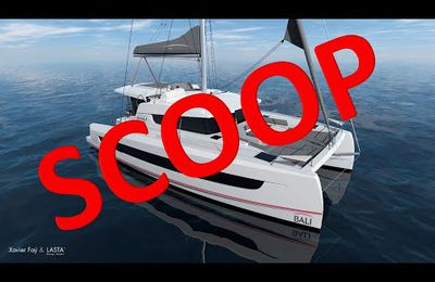 Scoop - Bali 4.2, a brand new catamaran, available for delivery from February 2021!