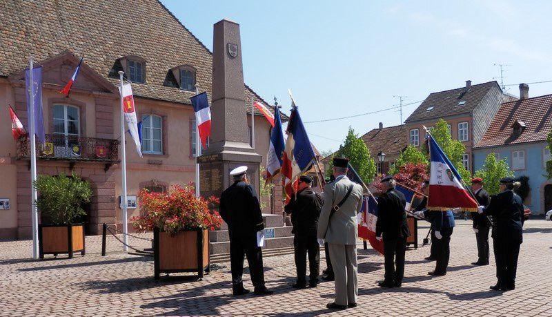 Commémoration du 71ème Anniversaire de la Victoire du 8 mai 1945