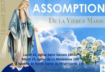 SOLENNITE DE L'ASSOMPTION A MARTIGUES
