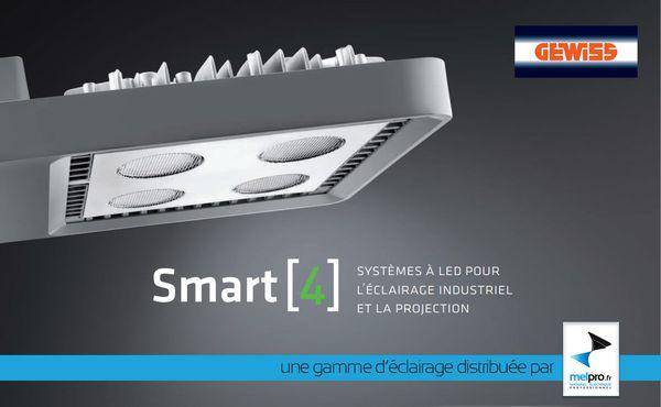 projecteur LED SMART 4 GEWISS distribué par MELPRO