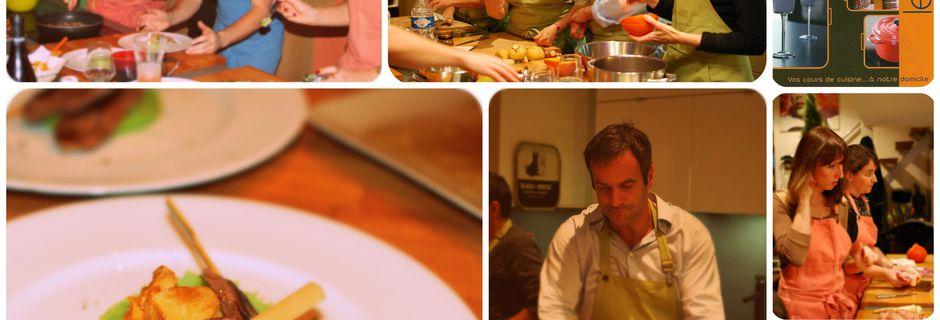 Un atelier culinaire pas comme les autres ...