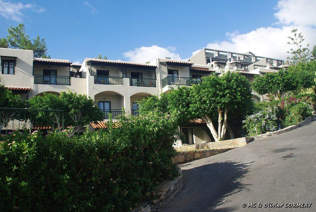 Retour à l'hôtel pour profiter de la Baie d'Elounda !!