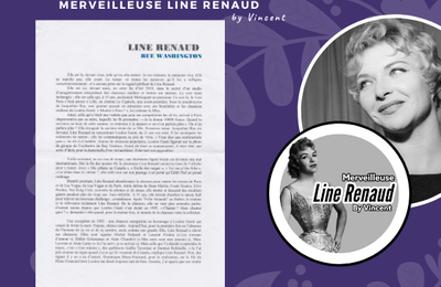 DOCUMENT: Dossier de Presse CD  Line Renaud Rue Washington (2010)