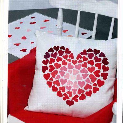 Grilles Saint-Valentin: cœurs et amoureux !
