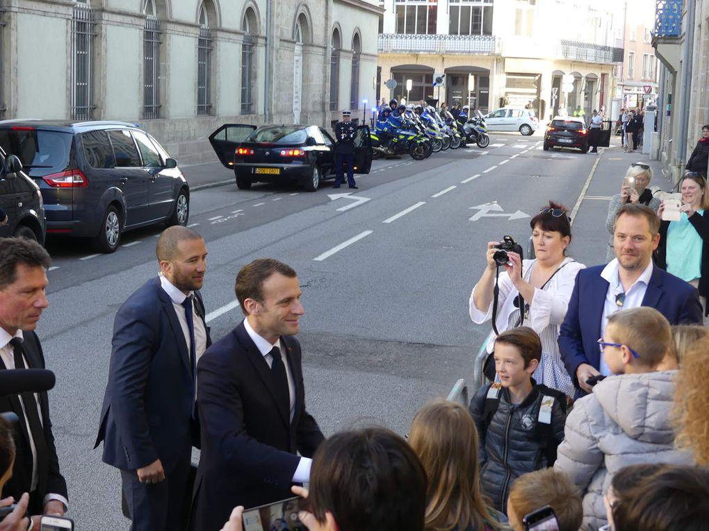 Vidéo exclusive: Emmanuel Macron quitte Epinal, heureux de son séjour dans les Vosges