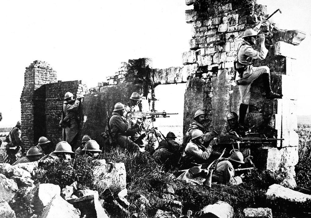 La Bataille de la Marne.