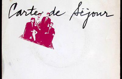 Carte de séjour - Douce France - 1986