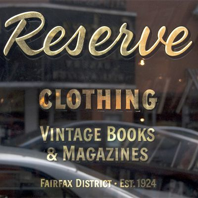 RESERVE ONLINE STORE RE-LAUNCH