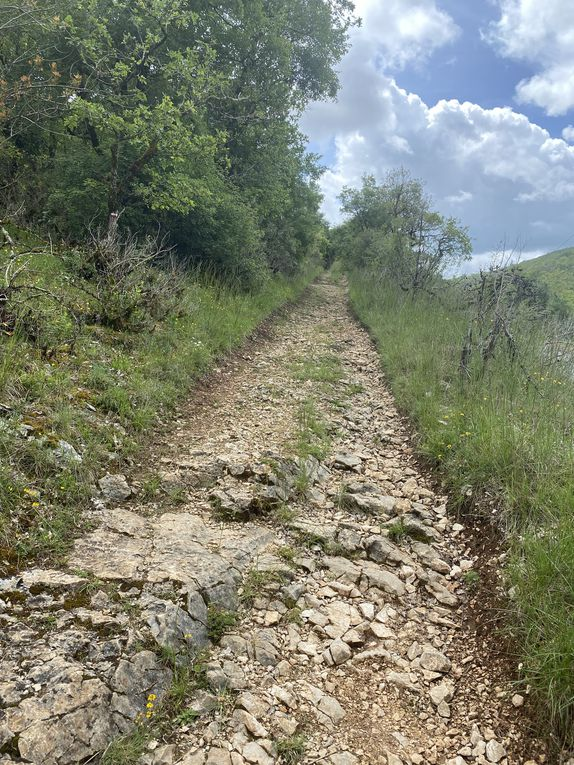 Étape 9 - St Cyr Lapopie / Vers 25,50 km