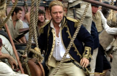 Master and Commander, Russell Crowe part à l'abordage