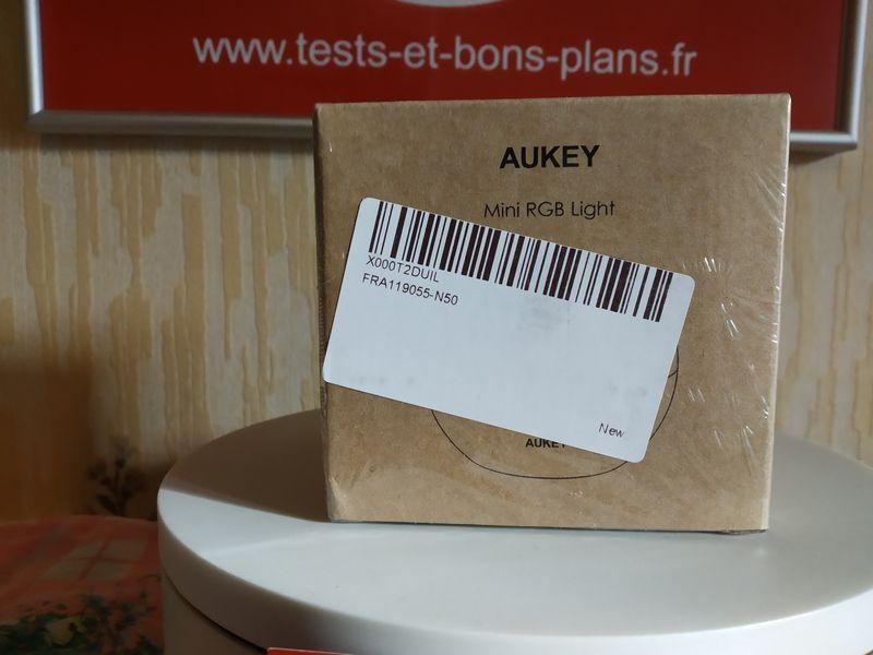 unboxing de la lampe LED multicolore sans fil - Aukey LT-ST23 @ Tests et Bons Plans