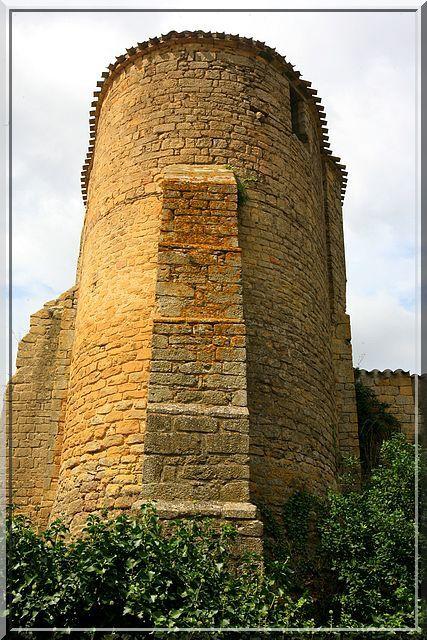 Diaporama église fortifiée de Cazalrenoux