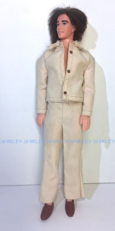 """""""THE NOW LOOK"""" KEN DOLL CLOTHES 1975 MATTEL #9342"""