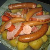 Choucroute alsacienne - Emma cuisine