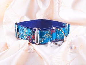 collier levriers martingales fabriquation EU:naturel, vert,   bleu.rouge, mauve/or,   mauve, rouge,   bleu