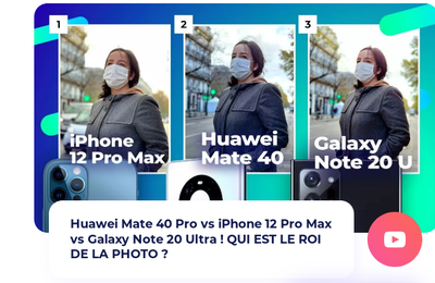 Test Photo : Huawei Mate 40 Pro Vs iPhone 12 Pro Max Vs Galaxy Note 20 Ultra