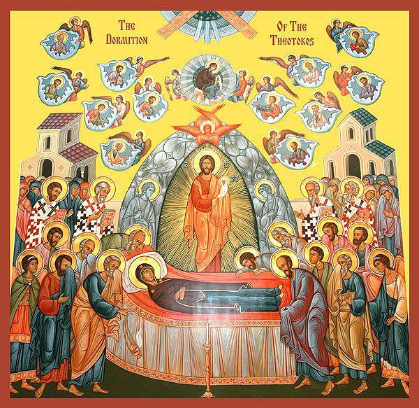 Après Fête de la Dormition de la Mère de Dieu
