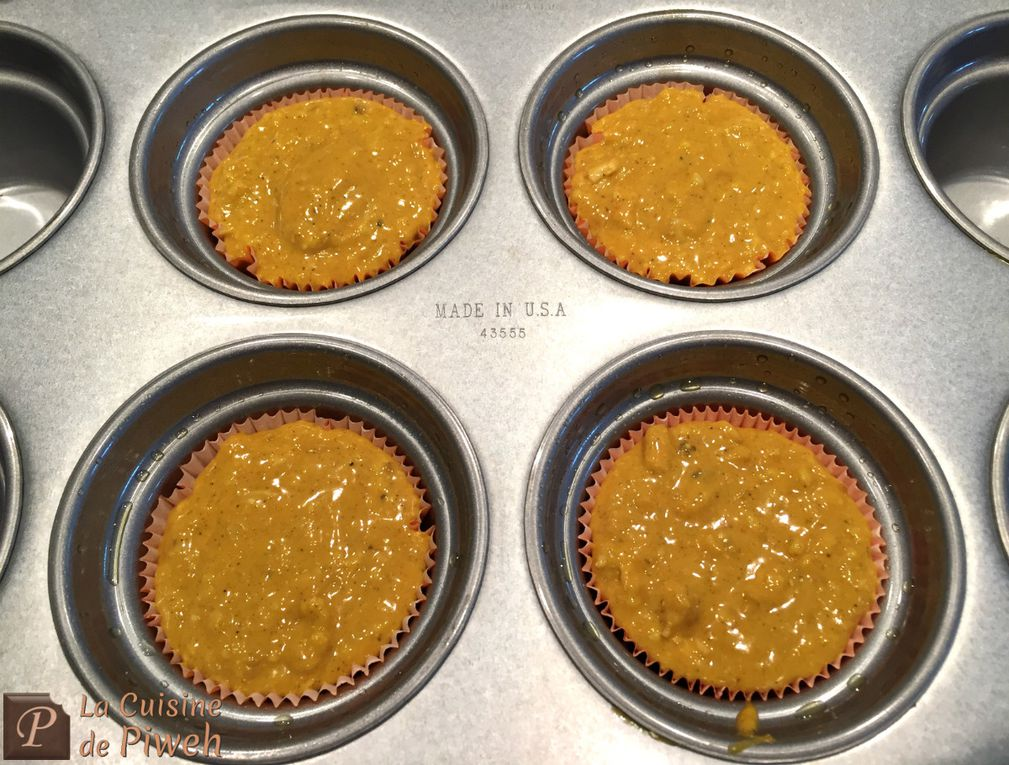 Muffins au Poulet-Curry