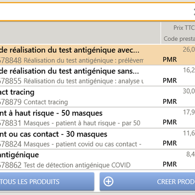 [Tests Antigéniques] COVID - contact tracing