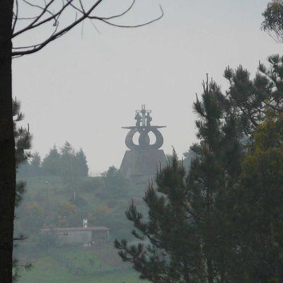 """j29 chemin de Compostelle """"Lavacolla à Santiago_10 km"""""""