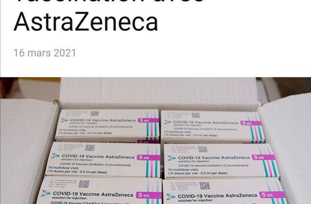 L'Espagne suspend la vaccination avec Astra Zeneca