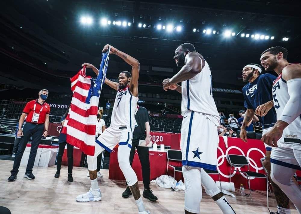 Kevin Durant, sans doute le plus grand olympien américain