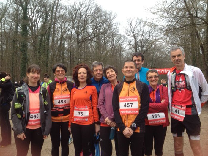 Trail de Marivel le 25 mars 2018