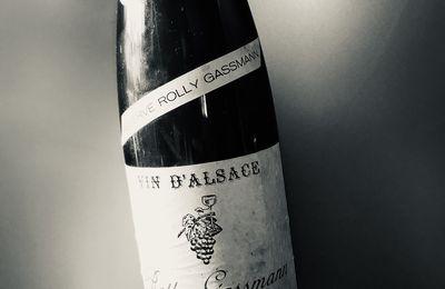 Alsace pinot gris réserve Rolly-Gassmann 1989 Domaine Rolly-Gassmann