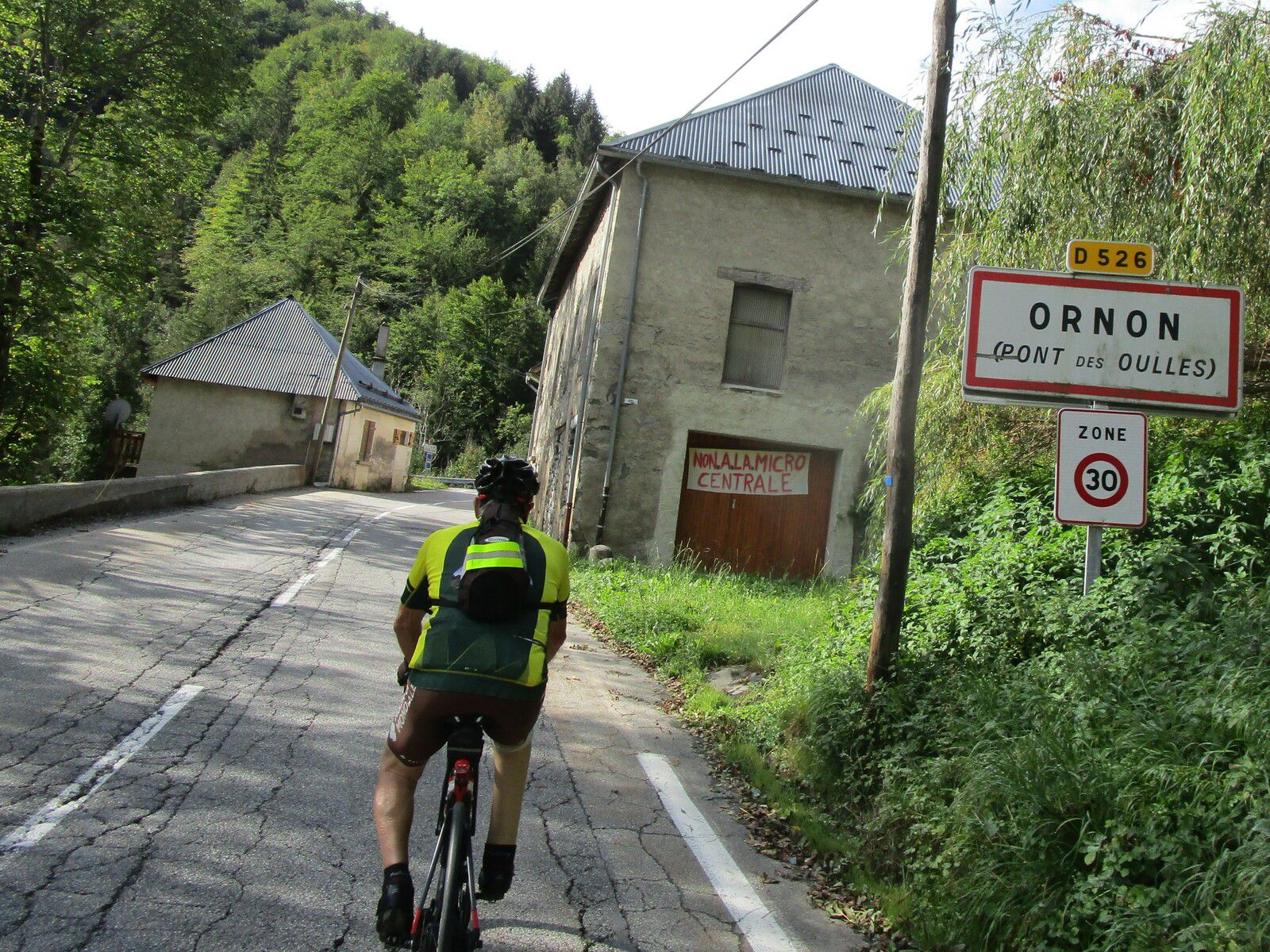 Le COL D'ORNON suivi de la montée de OULLES