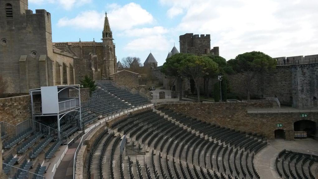 Carcassonne vu des ramparts