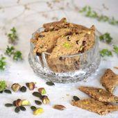 Biscuit apéro maison végétal et facile * 1,2,3...Dégustez !