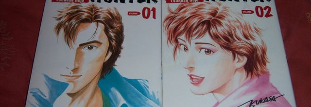 City Hunter édition Deluxe tomes 1 & 2
