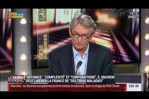 Le Grand Journal le 15 octobre 2014 - Jean-Claude Mailly, secrétaire général de FO