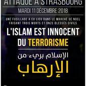 Le terrorisme n'a pas de foi ni de religion! - Salafidunord