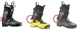 Avis de rappel des chaussures de ski SALOMON X ALP et ARC'TERYX PROCLINE