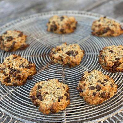 Cookies aux pépites de chocolat végans
